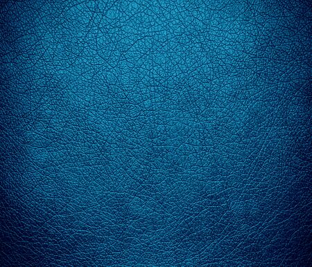 cerulean: Cerulean leather texture background Stock Photo