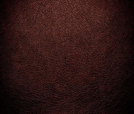 caput: Caput mortuum leather texture background Stock Photo