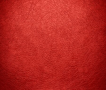 rawhide: Carmine pink leather texture background Stock Photo