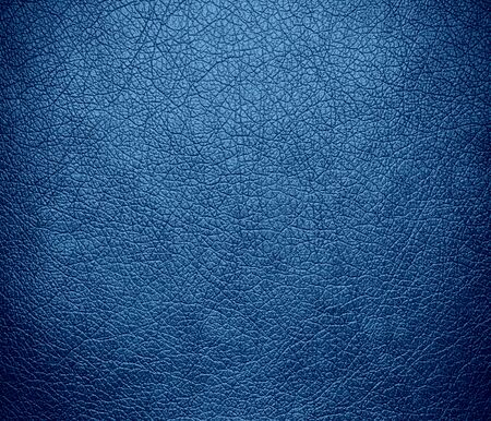 Cyan azure leather texture background Stock Photo