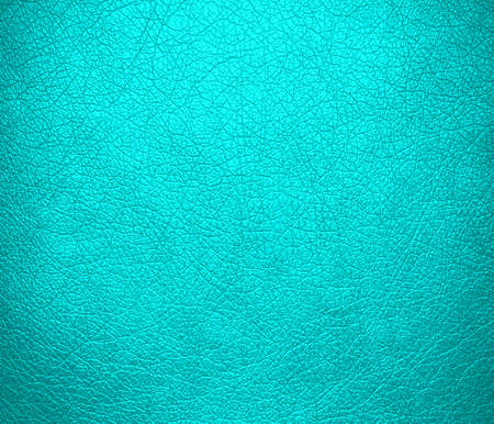 Cyan leather texture background