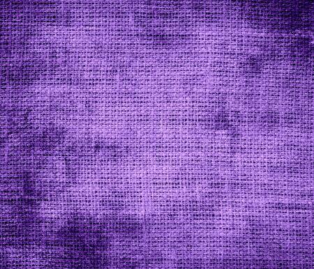 amethyst rough: Grunge background of amethyst burlap texture