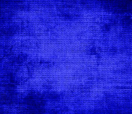 bluebonnet: Grunge background of bluebonnet burlap texture Stock Photo