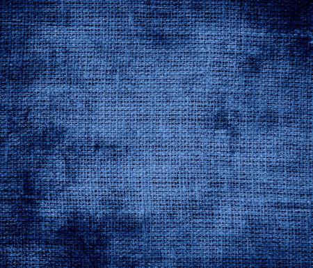 dazzled: Grunge background of B dazzled blue burlap texture