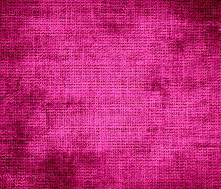 barbie: Grunge background of barbie pink burlap texture Stock Photo