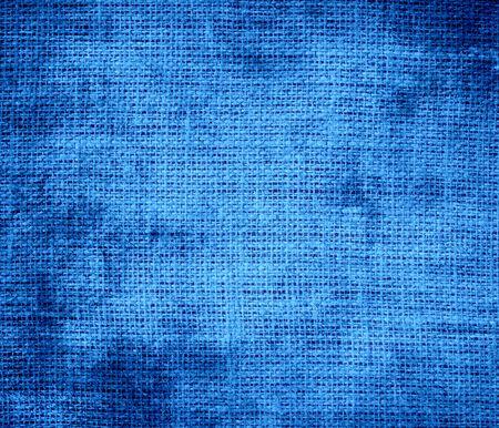 bleu: Grunge background of Bleu de France burlap texture