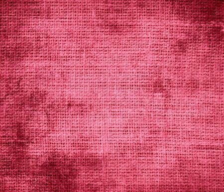 brink: Grunge background of brink pink burlap texture