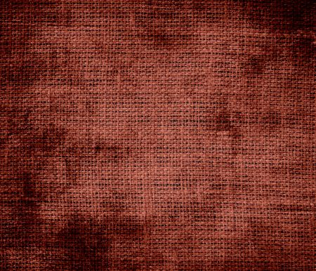umber: Grunge background of burnt umber burlap texture