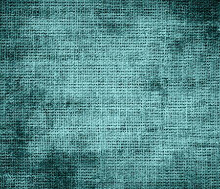 cadet blue: Grunge background of cadet blue burlap texture