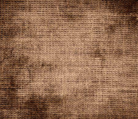 cafe au lait: Grunge background of cafe au lait burlap texture
