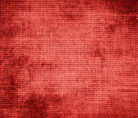 carmine: Grunge background of carmine pink burlap texture