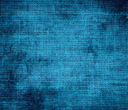 celadon blue: Grunge background of celadon blue burlap texture