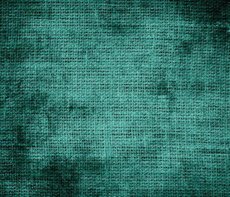 celadon green: Grunge background of celadon green burlap texture