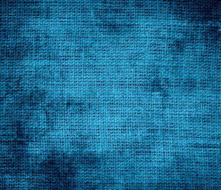 cerulean: Grunge background of cerulean burlap texture