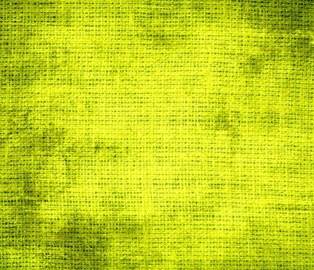 chartreuse: Grunge background of chartreuse traditional burlap texture