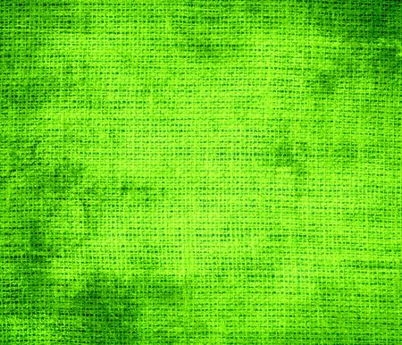chartreuse: Grunge background of chartreuse web burlap texture