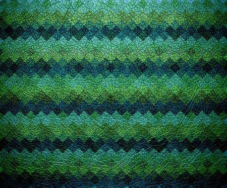 bolster: geometric pattern leather background Stock Photo