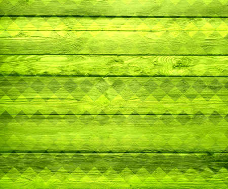 stained glass panel: geometric pattern wood texture background