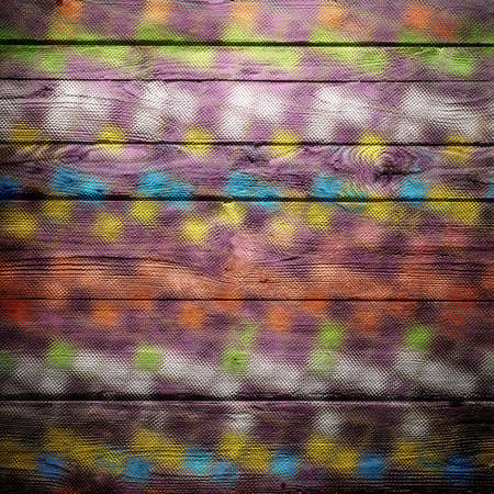 stain glass: Colorful geometric stain glass pattern wood texture background