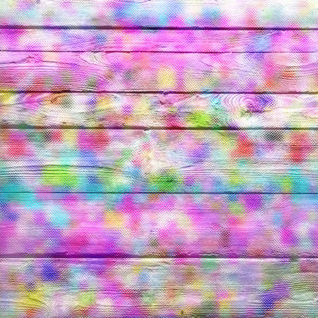 stained glass panel: Colorful abstract wood background Stock Photo