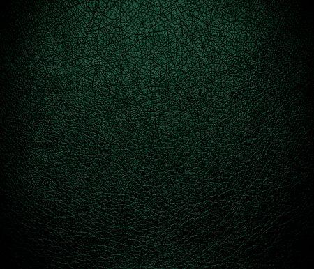 dark green: Dark green leather texture background