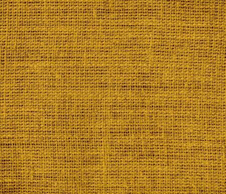 burlap texture: Dark goldenrod burlap texture background Stock Photo