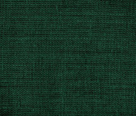 Vert foncé toile de jute texture de fond