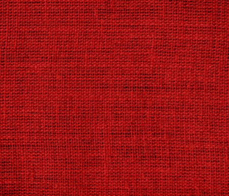 candy apple: Dark candy apple red burlap texture background