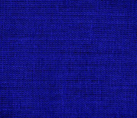 dark blue: Dark blue burlap texture background Stock Photo