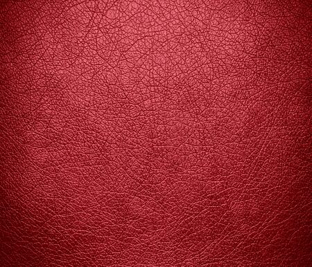 terra cotta: Dark terra cotta leather texture background Stock Photo