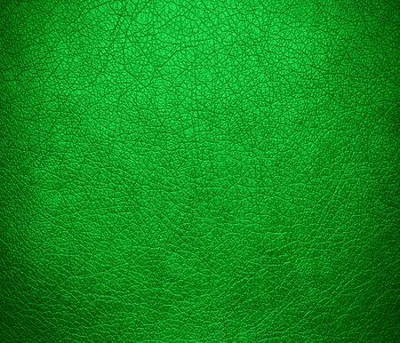 dark pastel green: Dark pastel green leather texture background Stock Photo