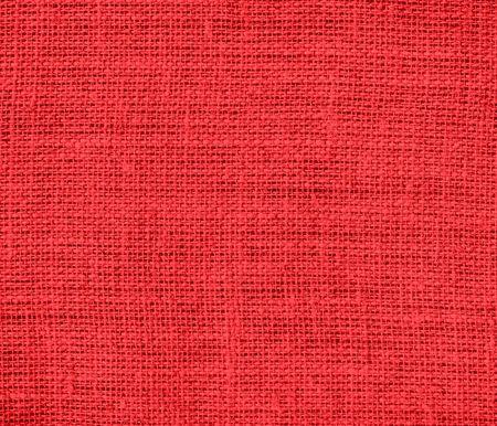 carmine: Deep carmine pink burlap texture background