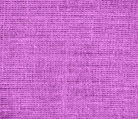 Deep mauve burlap texture background Stock Photo