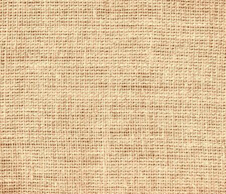 burlap texture: Deep peach burlap texture background