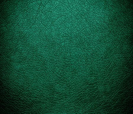 rough background: Deep green-cyan turquoise leather texture background
