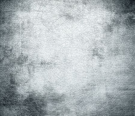 bolster: Grunge background of alice blue leather texture Stock Photo
