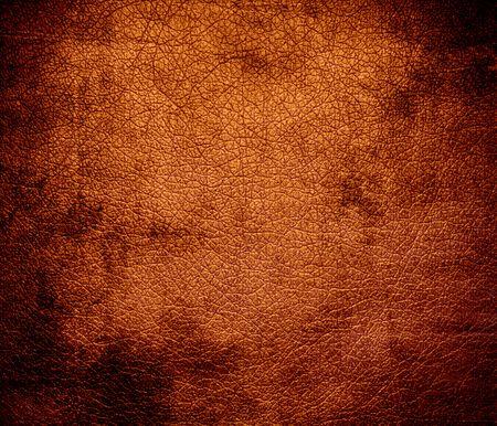 alloy: Grunge background of alloy orange leather texture Stock Photo
