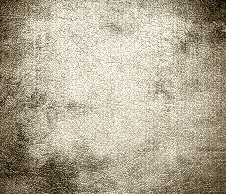 white leather texture: Grunge background of antique white leather texture