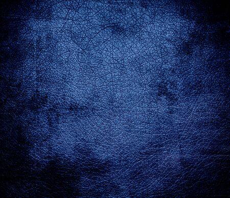dazzled: Grunge background of dazzled blue leather texture