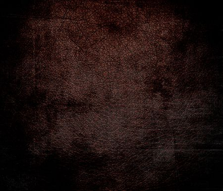 black leather texture: Grunge background of black bean leather texture