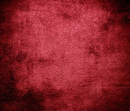 red leather: Grunge background of brick red leather texture