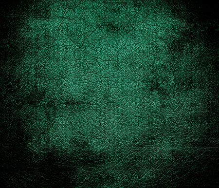grunge bottle: Grunge background of bottle green leather texture