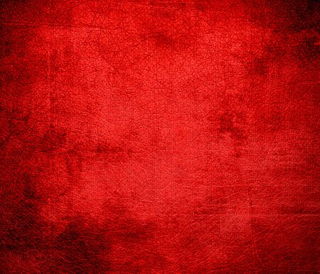 candy apple: Grunge background of candy apple red leather texture