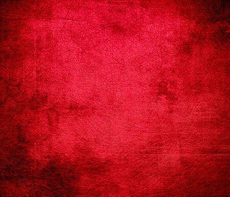 carmine: Grunge background di rosso carminio texture in pelle Archivio Fotografico