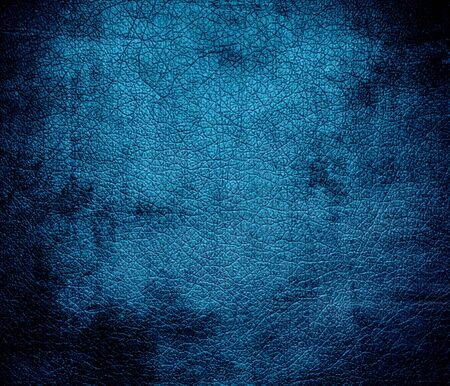 celadon blue: Grunge background of celadon blue leather texture Stock Photo