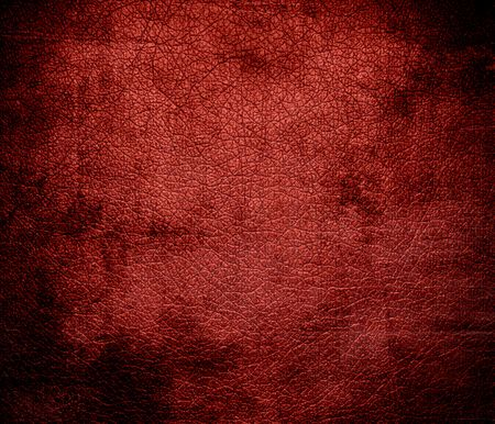 red leather texture: Grunge background of chinese red leather texture