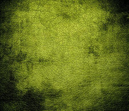 citron: Grunge background of citron leather texture Stock Photo