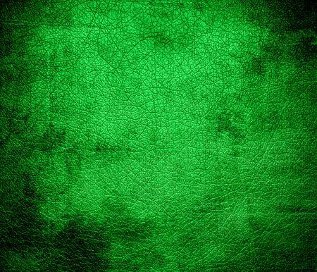 dark pastel green: Grunge background of dark pastel green leather texture
