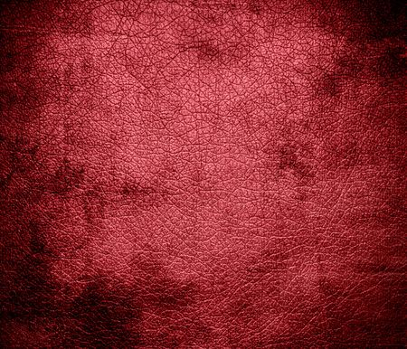 terra cotta: Grunge background of dark terra cotta leather texture