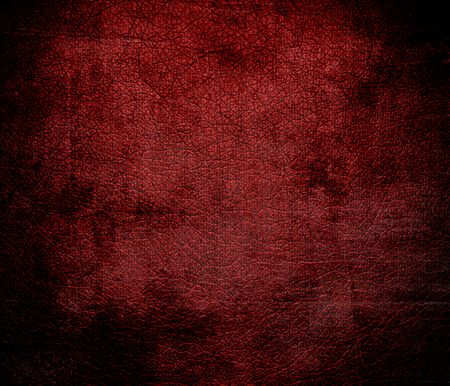 maroon leather: Grunge background of deep maroon leather texture
